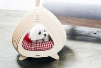 Captivating Plywood Dog House Design Ideas With Fishbone To Insoire You29