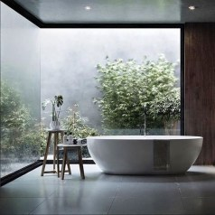Casual Master Bathrooms Design Ideas That Connected To Nature15