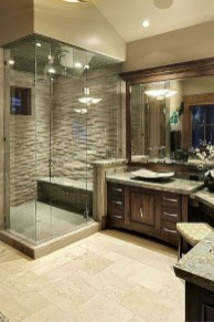 Casual Master Bathrooms Design Ideas That Connected To Nature22