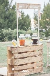 Chic Outdoor Wedding Drink Station And Bar Ideas For Winter To Try Asap33