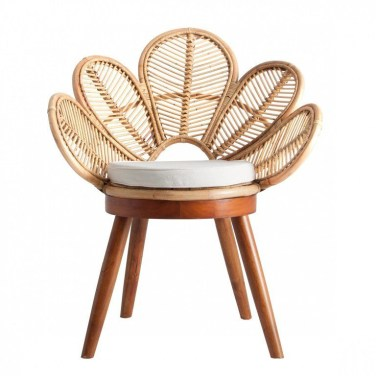 Excellent Chair And Table Design Ideas With Flower Shapes To Try Asap15