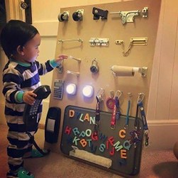 Exciting Diy Busy Boards Ideas For Toddler Learning That You Need To Try02