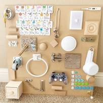 Exciting Diy Busy Boards Ideas For Toddler Learning That You Need To Try20