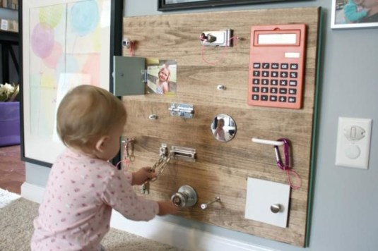 Exciting Diy Busy Boards Ideas For Toddler Learning That You Need To Try22