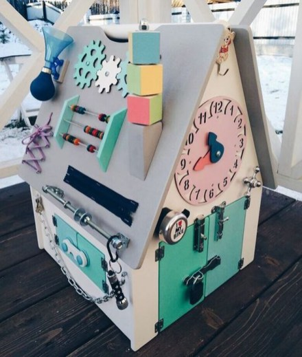 Exciting Diy Busy Boards Ideas For Toddler Learning That You Need To Try32