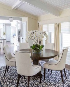 Fancy Round Dining Table Design Ideas That Looks So Awesome01