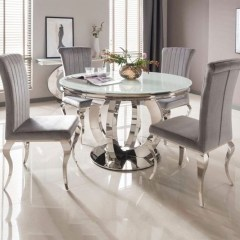 Fancy Round Dining Table Design Ideas That Looks So Awesome07