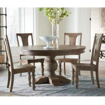 Fancy Round Dining Table Design Ideas That Looks So Awesome12