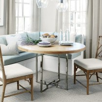 Fancy Round Dining Table Design Ideas That Looks So Awesome22