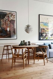 Fancy Round Dining Table Design Ideas That Looks So Awesome23