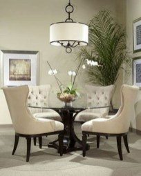 Fancy Round Dining Table Design Ideas That Looks So Awesome24