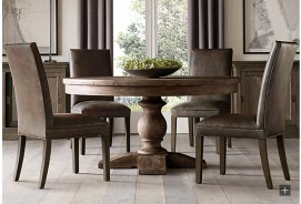 Fancy Round Dining Table Design Ideas That Looks So Awesome26