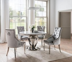 Fancy Round Dining Table Design Ideas That Looks So Awesome30