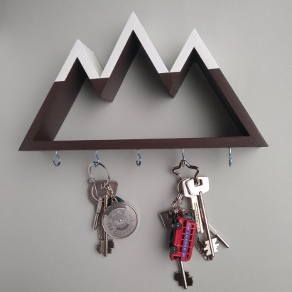 Fantastic Wall Key Holders Design Ideas That Looks So Amazing07