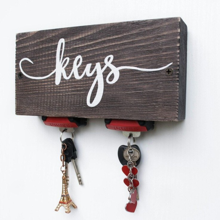 Fantastic Wall Key Holders Design Ideas That Looks So Amazing13