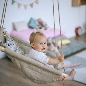 Luxury Indoor Swing Design Ideas For Kids Space To Have Right Now01