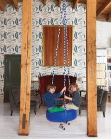 Luxury Indoor Swing Design Ideas For Kids Space To Have Right Now02