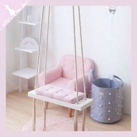 Luxury Indoor Swing Design Ideas For Kids Space To Have Right Now06