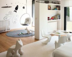Luxury Indoor Swing Design Ideas For Kids Space To Have Right Now08