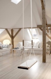 Luxury Indoor Swing Design Ideas For Kids Space To Have Right Now19