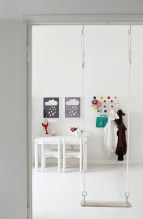 Luxury Indoor Swing Design Ideas For Kids Space To Have Right Now24