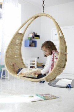 Luxury Indoor Swing Design Ideas For Kids Space To Have Right Now26