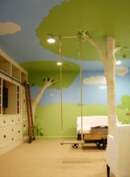 Luxury Indoor Swing Design Ideas For Kids Space To Have Right Now30