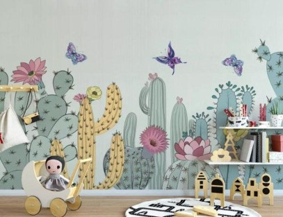 Perfect Cactus Trends Design Ideas For Kids Room To Have18