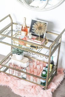 Sophisticated Bar Carts Ideas For Valentine Décor To Try Asap05
