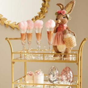 Sophisticated Bar Carts Ideas For Valentine Décor To Try Asap12