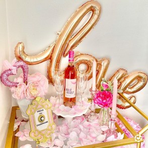 Sophisticated Bar Carts Ideas For Valentine Décor To Try Asap21