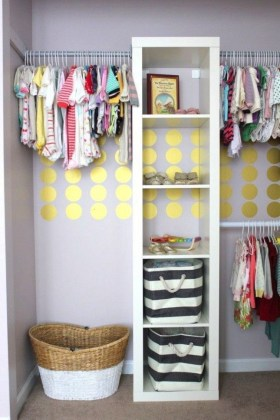 Splendid Baby Closet Organizer Design Ideas That Without Closet To Try08