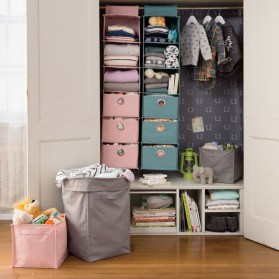 Splendid Baby Closet Organizer Design Ideas That Without Closet To Try19