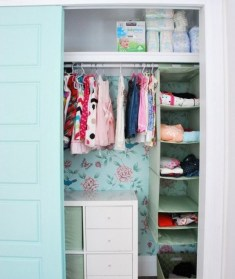 Splendid Baby Closet Organizer Design Ideas That Without Closet To Try22