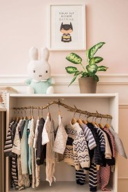 Splendid Baby Closet Organizer Design Ideas That Without Closet To Try23