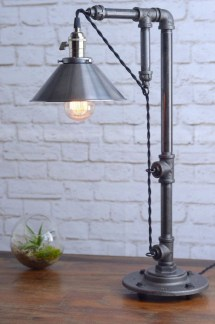 Vintage Industrial Lamps Design Ideas To Improve Your Home Lighting19