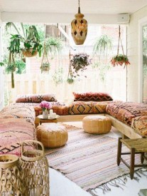 Captivating Bohemian Interior Design Ideas That Suitable For Your Apartment01