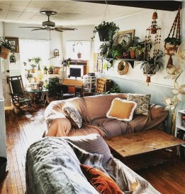 Captivating Bohemian Interior Design Ideas That Suitable For Your Apartment05