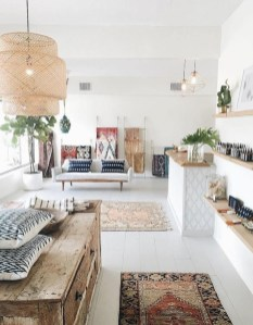 Captivating Bohemian Interior Design Ideas That Suitable For Your Apartment21