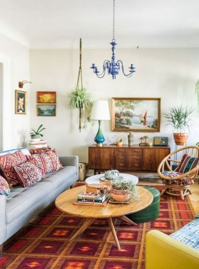 Captivating Bohemian Interior Design Ideas That Suitable For Your Apartment25