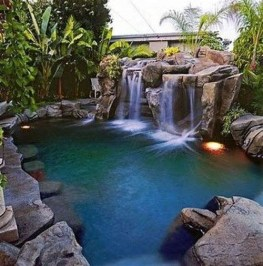 Comfy Swimming Pools Design Ideas With Stunning Natural Surroundings26