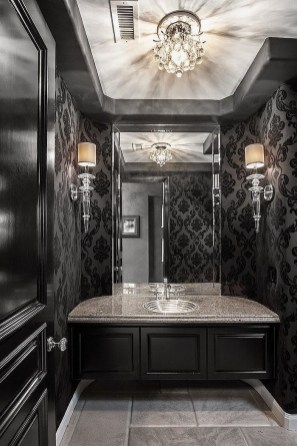 Exciting Dark Gothic Interior Designs Ideas That You Need To Try15