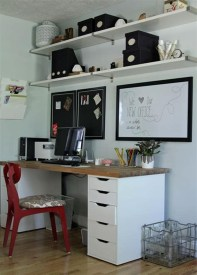 Fancy Home Office Designs Ideas From Ikea To Have27