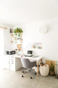 Fascinating Home Office Design Ideas With Beautiful Plants To Try Asap02