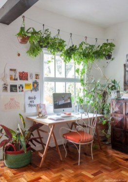 Fascinating Home Office Design Ideas With Beautiful Plants To Try Asap16
