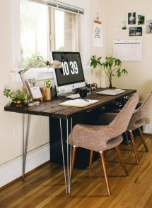 Fascinating Home Office Design Ideas With Beautiful Plants To Try Asap23