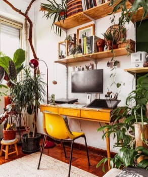 Fascinating Home Office Design Ideas With Beautiful Plants To Try Asap27