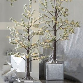 Favorite Winter Tree Display Design Ideas For Small Spaces11