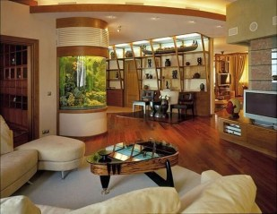 Glamorous Aquariums Design Ideas For Cool Interior Styles To Have26