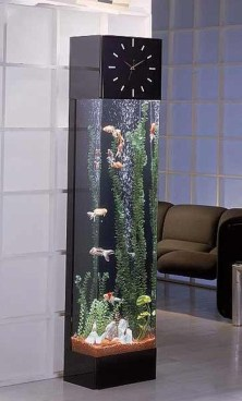 Glamorous Aquariums Design Ideas For Cool Interior Styles To Have31